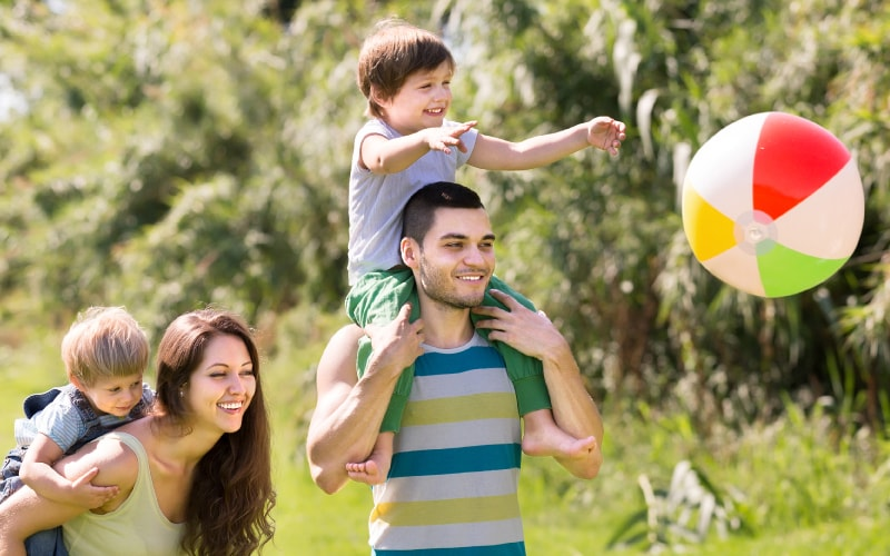Sport parents/enfants de Freepik